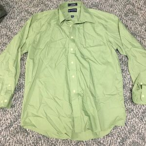 Men's Stafford button up shirt size large